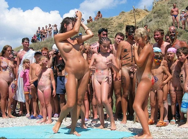 Photos family nudism beauty contest [sunny beach]