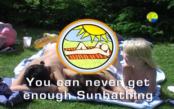 You can never get enough sunbathing - Naturist freedom family nudism video [720×489 | 01:04:28 | 3.01 GB]