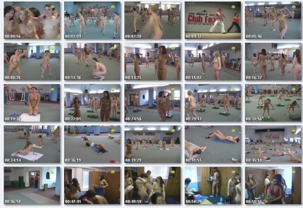 Aerobic - Naturist freedom family nudism video [720×480 | 00:55:00 | 840.43 MB]