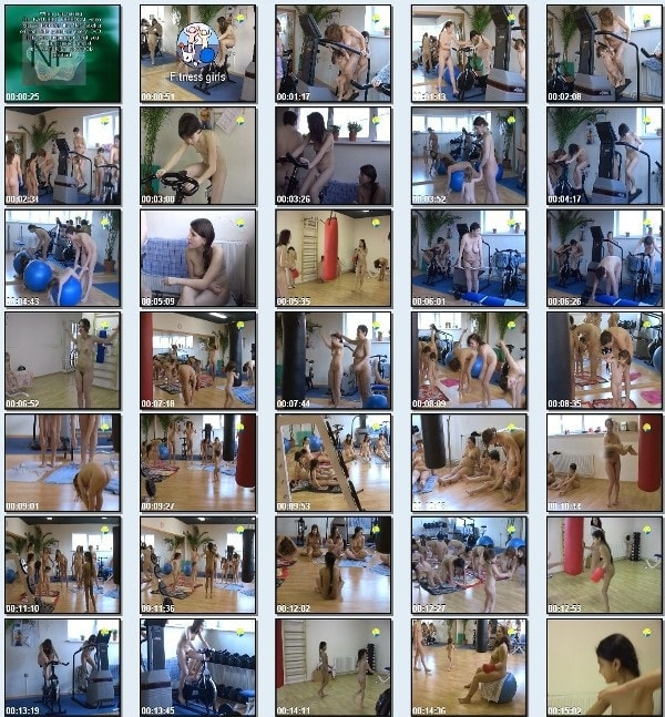 Fitness Girls - Naturist freedom family nudism video [720×480 | 00:55:20 | 4.1 GB]