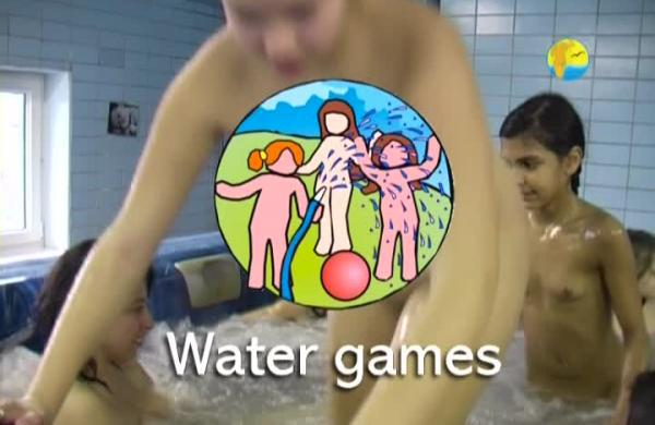 Water Games - Naturist freedom family nudism video in the pool [720×480 | 01:14:29 | 4.3 GB]
