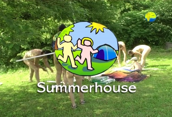 Summerhouse - Naturist freedom family nudism video [720×480 | 01:27:07 | 4.4 GB]