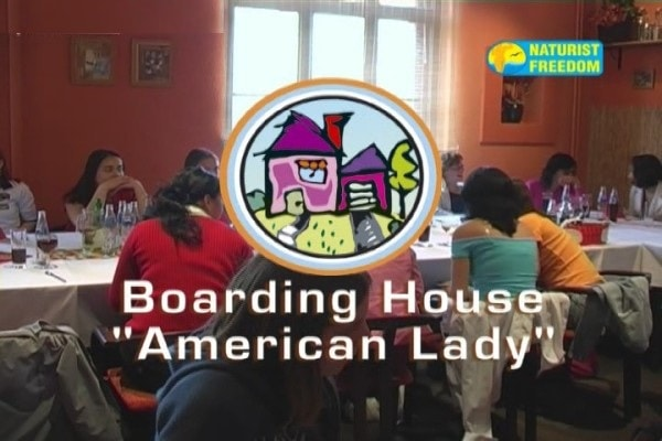 Boarding House American Lady - Naturist freedom family nudism video [720×480 | 00:54:59 | 840.26 MB]