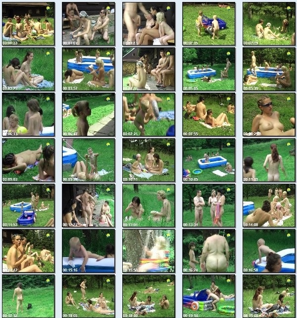 Cottage Colony - Naturist freedom family nudism video [720×480 | 01:24:07 | 3.8 GB]