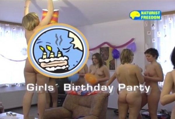 Girls Birthday Party - young nudists girls at birthday party [720x480 | 00:55:47 | 3.1 GB]