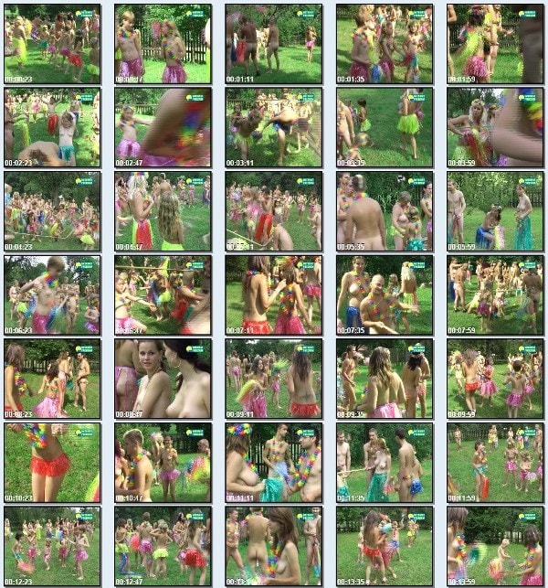 European Hawaii - Naturist freedom family nudism video -  [720x480 | 01:19:26 | 4,0 GB]