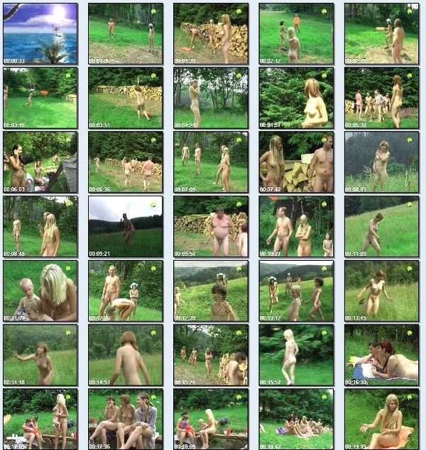 Frisbee [video nudism outdoor] [720x480 | 01:14:07 | 3.8 GB]