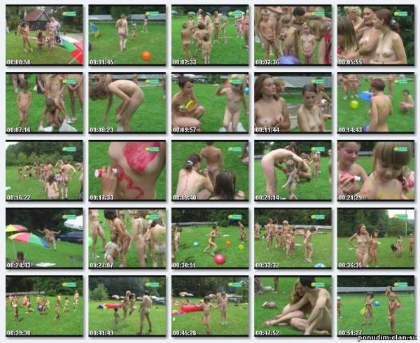 Nudism family video - Childrens afternoon [720x576 | 00:26:17 | 1 GB]