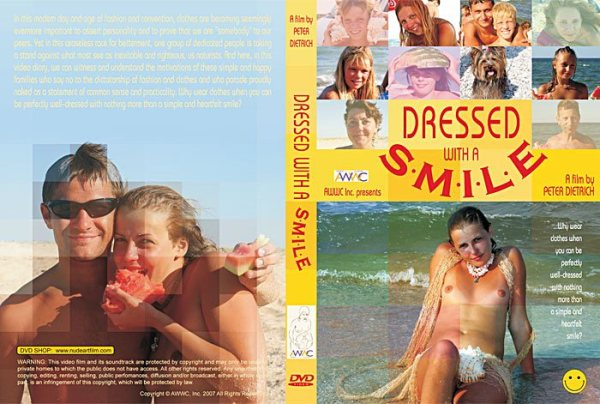 Video nudism - Dressed with a Smile [720x576 | 00:56:41 | 3,9 GB]