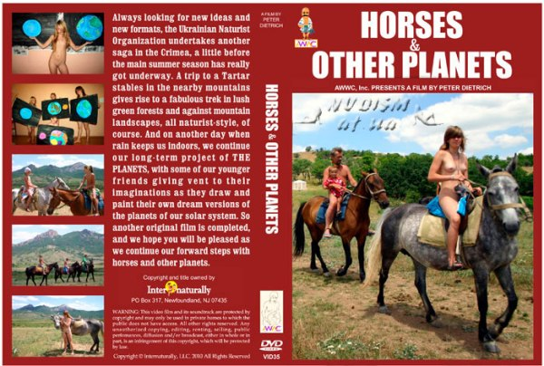 Video nudism - horses & other planets [720×480 | 00:58:17 | 3.73 GB]