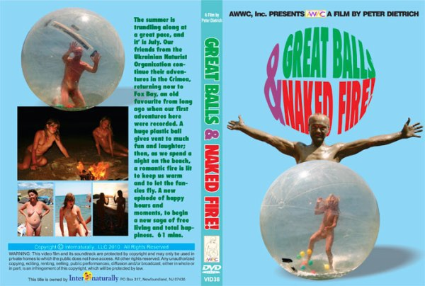 Family nudism documentary video - Great balls & naked fire [720×480 | 01:16:28 | 3.61 GB]