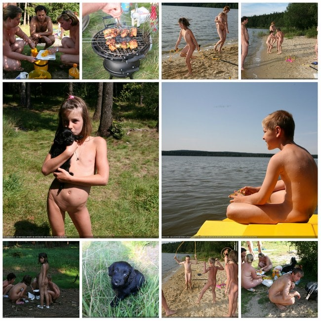 Photos young boys and girls nudists in Brazil