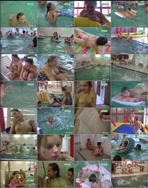 Full Pool - Naturist freedom family nudism video [720×480 | 00:55:32 | 1.2 GB]