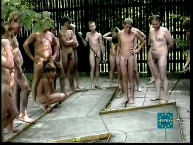 Gay nudist camp video