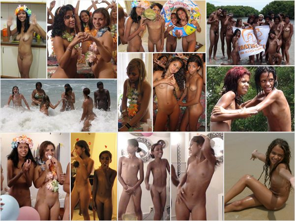 Young girls nudists in Brazil photos
