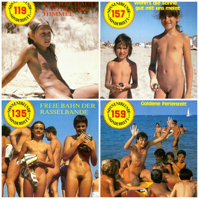 Family nudism FKK magazine collection - Sonnenfreunde Sonderheft # 2