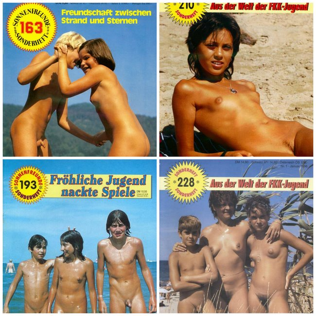 Rare nudism FKK magazine collection - Sonnenfreunde Sonderheft # 3