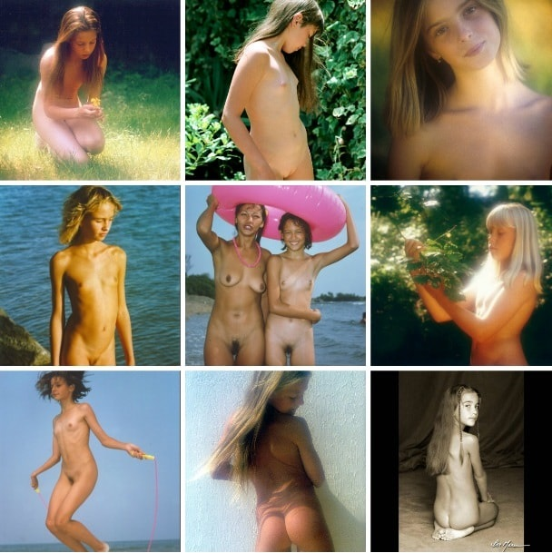 Retro naturism photographer Don Marcus