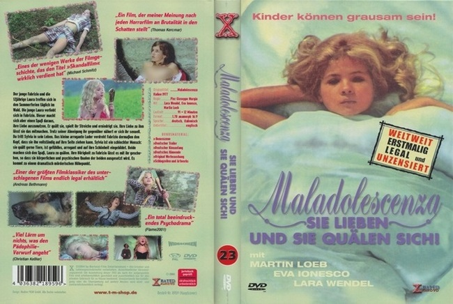 Maladolescenza (1977) - retro ero nudism video