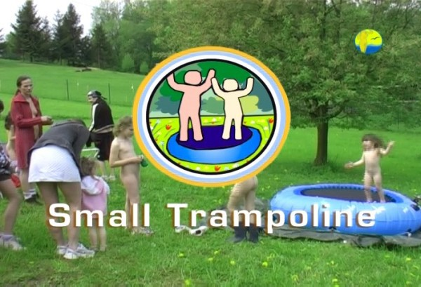 Small Trampoline - Naturist freedom family nudism video [720×480 | 01:23:43 | 2.5 GB]