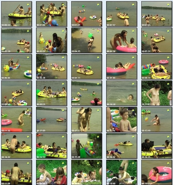 On the Lake - Nudism family video  [720x480 | 02:15:42 | 1.86 GB]
