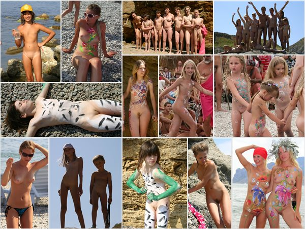 New photo galleries young nudists