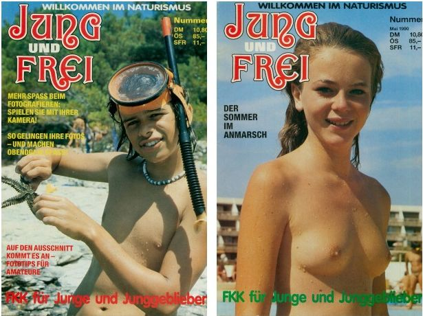 German retro magazines about nudism full edition №1-115